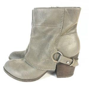 Fergalicious faux leather boots